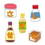 調味料「さしすせそ」の法則☆砂糖・塩・酢・醤油・味噌の効果