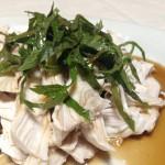 さっぱりピリ辛☆鶏胸肉のポン酢ダレ