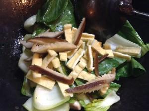 鶏胸肉とチンゲン菜の炒めもの-レシピ2