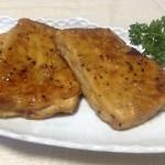 冷凍豆腐でつくる☆テリヤキ豆腐ステーキ