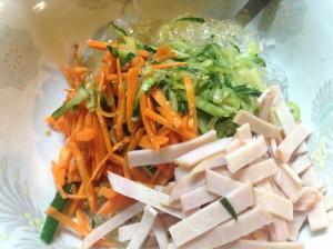 簡単さっぱり★和えるだけ・春雨サラダ★レシピ-レシピ2