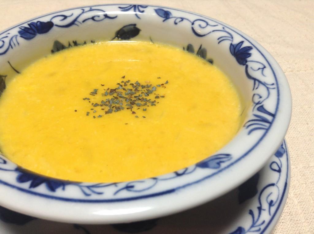 とろーり濃厚☆かぼちゃスープ
