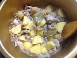 ルー不使用・チキンカレー-レシピ2