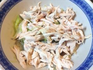 くらげと鶏肉の中華サラダ-レシピ2