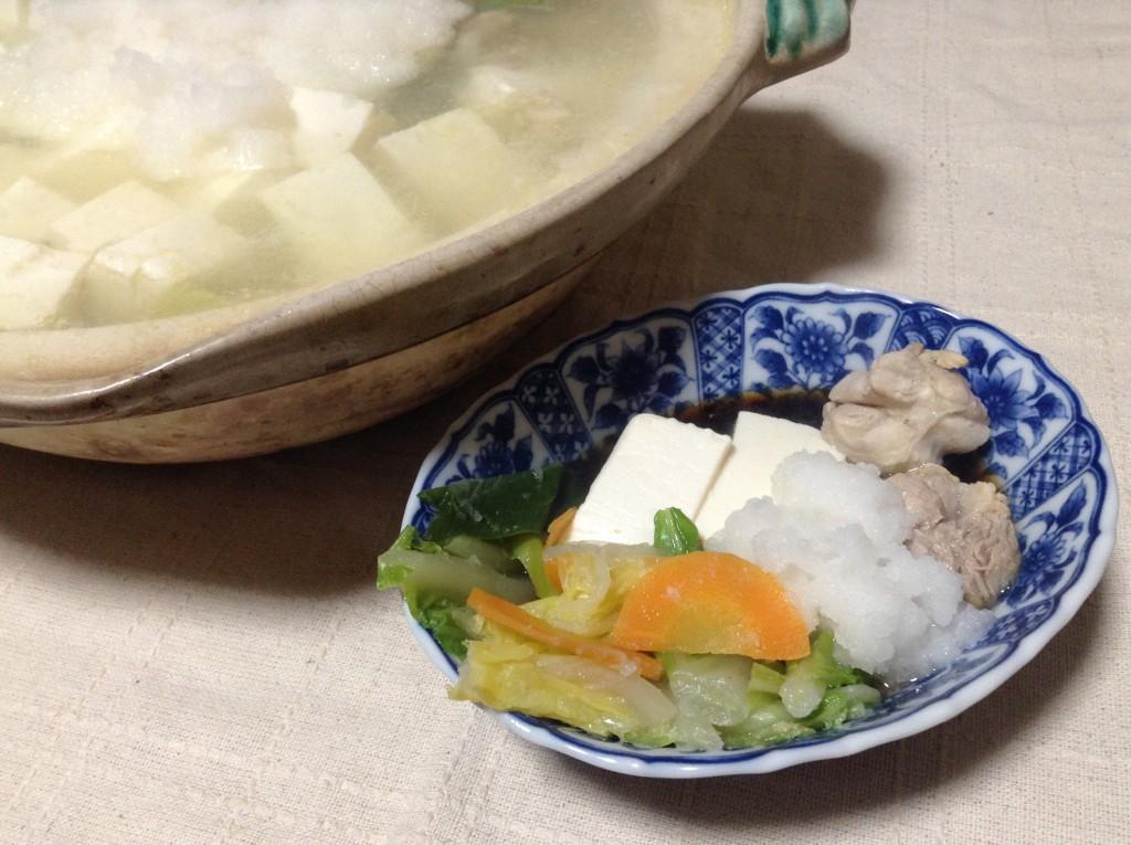 さっぱりヘルシー☆水炊き・みぞれ鍋