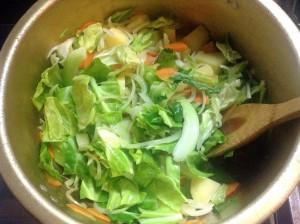 栄養たっぷり☆具だくさん・食べるミネストローネ-レシピ1
