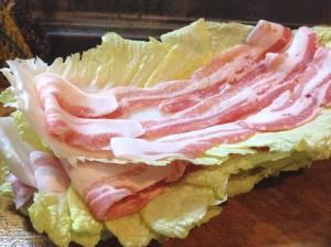 簡単かつ豪快☆豚バラと白菜のミルフィーユ鍋-レシピ1