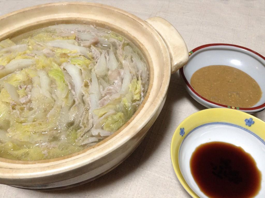簡単かつ豪快☆豚バラと白菜のミルフィーユ鍋