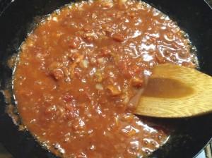 しっとりヘルシー☆ガーリックトマトソース・鶏胸肉のソテー-レシピ3