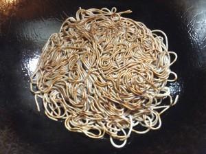 さっぱりヘルシー☆蕎麦のあんかけ焼きそば-レシピ2