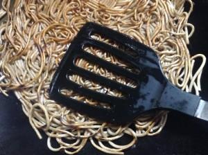 さっぱりヘルシー☆蕎麦のあんかけ焼きそば-レシピ4