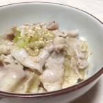 にんにく香る★ガッツリ・ねぎ塩豚カルビ丼★レシピ