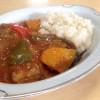 ごろっと野菜とチキンで☆スパイシー夏野菜カレー