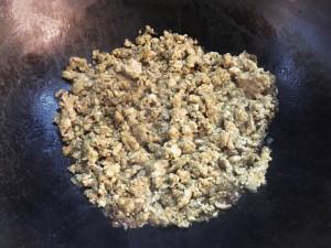 麻婆豆腐-鶏ひき肉