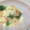 食べごたえのある触感☆エビとブロッコリーのタルタルサラダ
