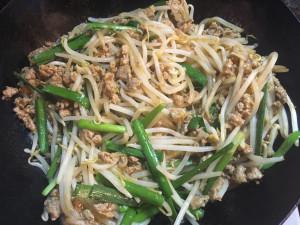 ササッと簡単★豚挽肉ともやしの辛味炒め★レシピ-レシピ2